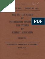 PsyOpsAmerican army
