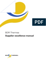 BDR Thermea Supplier Manual