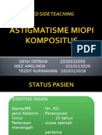 BED SIDE TEACHING slide astigmatisme miop komposius.ppt