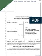 Rivas v. Hedgpeth - Document No. 4