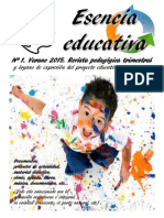 Esencia Educativa Nº 1 (3º Trimestre 2015)