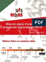 Filière Brassicole PACA 10 Juin 2015