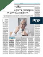 El Comercio - Portafolio - 24-07-2015 - Entrevista a Carlos Galvez - La consulta previa postergarà los proyectos mineros.pdf