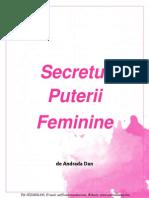 eBook Secretul Puterii Feminine