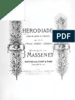 Massenet - Herodiade Vs
