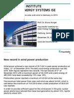 Proizvodnja električne energije u Njemačkoj u 2014. godini
