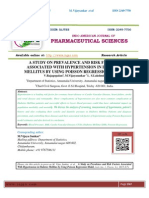 A STUDY ON PREVALENCE AND RISK FACTORS ASSOCIATED WITH HYPERTENSION IN DIABETES MELLITUS BY USING POISSON REGRESSION MODEL