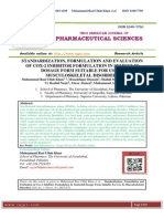 STANDARDIZATION, FORMULATION AND EVALUATION OF COX-2 INHIBITOR FORMULATION IN SEMISOLID DOSAGE FORM SUITABLE FOR USE IN MUSCULOSKELETAL DISORDERS