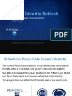 PSU Brand Identity Refresh