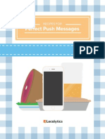 Recipes for Perfect Push Messages(1)
