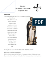 st dominics day prayer
