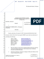Kelley v. Microsoft Corporation - Document No. 103