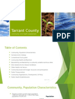 tarrant county community and health assessment