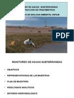 19. MOnitoreo de Aguas Subterráneas y Const. de Freatímetros