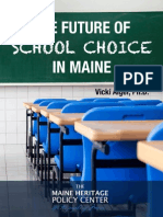 The Future of School Choice in Maine