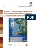 Participatory three dimensional modelling of the Soufiere-Scotts Head-Gallion area, Dominica