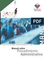 CHILE Manual Procedimientos Administrativos Ley 19.880