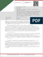 Resolución Exenta 2385 Crea en La División de Desarrollo Urbano El Departamento de Obras Urbanas;