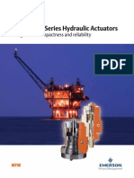 BHH and BL Series Hydraulic Actuators
