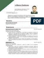 CV Carlos Blanco