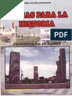 FECHAS PARA LA HISTORIA - CALENDARIO PROVINCIAL
