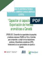 JChong IICA Aromatics SPA
