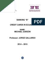 Tarjetas de Credito Ecuador