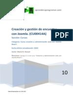 Creacion y Gestion de Encuestas Con Joomla