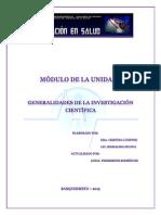 Módulo de La Unidad I(Lecturas Comprensivas)
