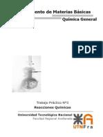 TP3 - Reacciones Químicas