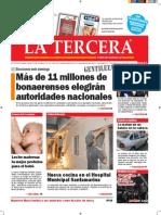 Diario La Tercera 05.07.2015