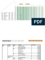 Monthly Sales Report1