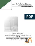 TP4 - Masa Atómica Relativa Del Mg