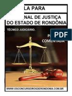 PROVA TÉCNICO JUDICIÁRIO 2012 COMENTADA - CESPE.pdf