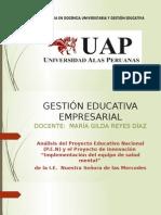 Gestion Educativa Empresarial