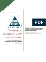 Consejos Para Conseguir El CCNA de Cisco Systems