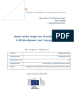 Report on Human Rights Integration