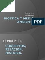 Bioetica y Medio Ambiente