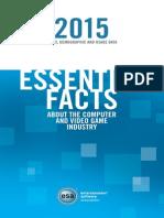 ESA Essential Facts 2015