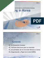 Investing in Korea 2009 (Spanish)