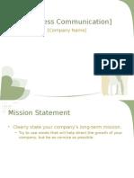 Business Presentation Powerpoint Template