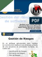 Gestion de Riesgos en Proyectos de Software
