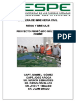 Proyecto Proposito Multiple Chone