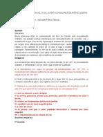 DIREITO PROCESSUAL CIVIL II CASOS CONCRETOS RESOLVIDOS - Cópia.docx