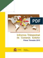 Informe Comex Trimestral- 2015- Trim I