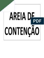 Areia de Contenção