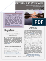 The C4C Federal Exchange Newsletter  (August 2015)  ISSN 2375-706X