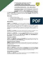 Contrato de Locación de Servicios Nº 001