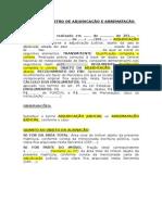 MODELO - REGISTRO - ADJUDICAÇÃO E ARREMATAÇÃO JUDICIAL.doc