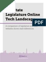 FiscalNote whitepaper on Legislative Tech